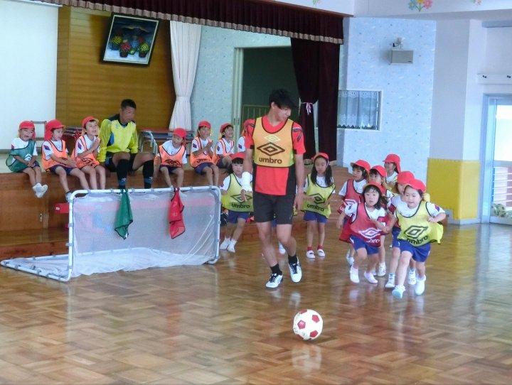 サッカー教室(3)