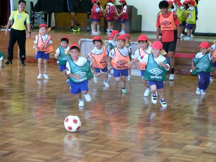 サッカー教室(5)