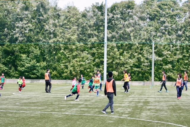 ③親子サッカー