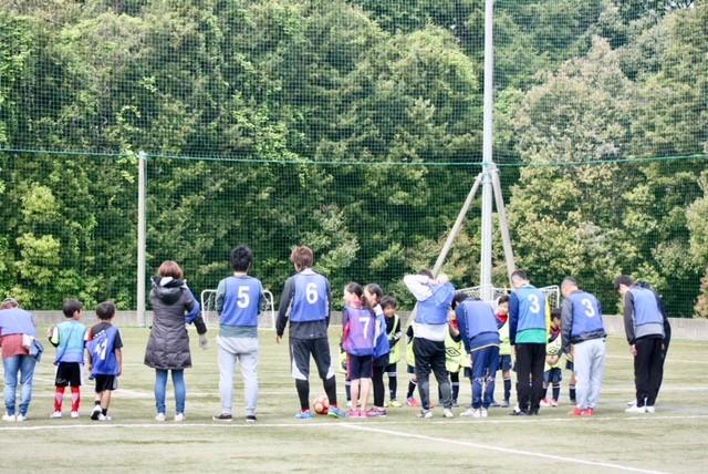 親子サッカー②
